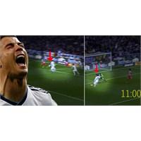 Ronaldo'dan Sprinterlara Parmak İsırtacak Depar !