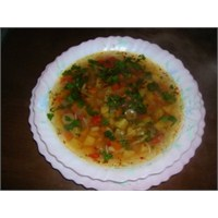 Taneli Sebze Çorbası Tarifi