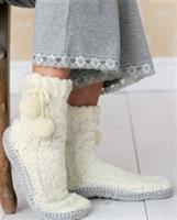Yeni Sezon Örgü Çorap Modelleri