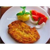 Tavuk Şinitzel Nasıl Yapılır Tarifi