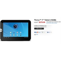 Toshiba Thrive Tablet Pc