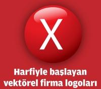 X Harfiyle Başlayan Vektörel Logolar