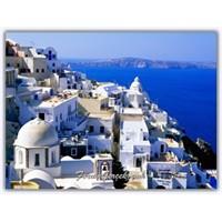Büyülü Bir Maviliğe Doğru, Santorini Adası