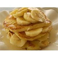 Ballı Muzlu Pancake