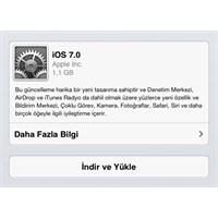 İphone Ve İpad İçin İos 7 Yazılım Güncellemesi