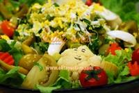 Turşulu Yumurtalı Patates Salatası