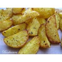 Baharat Marineli Kızarmış Taze Patatesler