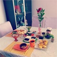 Sofra Düzenlemeleri @gokchen House Lounge Cafe
