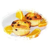 Nefis Portakalli Muffin
