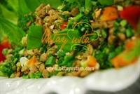 Otlu Mercimek Salatası