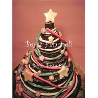 Yılbaşı Ağacı Pastası