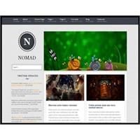 Nomad Wordpress Teması (Free Wordpress Themes)