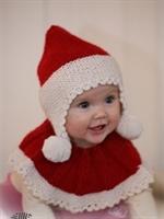 Çocuklar Için Noel Baba Şapka Ve Atkı Örgüleri