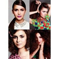 Nina Dobrev'den Dört Farklı Saç Modeli