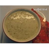 Yoğurtlu Göce Çorbası