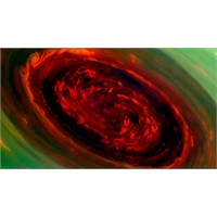 Cassini Satürn'de Dev Fırtına Keşfetti