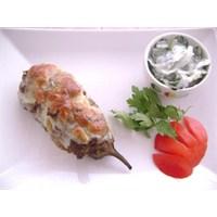 Köfte Mantolu Kaşarlı Patlıcan
