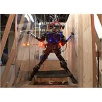 Darpa'dan Engelleri Aşan Robot