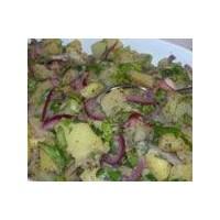 İftar Sofrası: Kırmızı Soğanlı Patates Salatası
