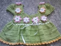 Yazlık Dantel Bebek Elbise Modelleri