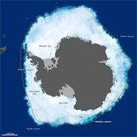 Artartika'da Buzlanma Rekor Seviyeye Ulaştı
