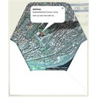 Google Maps İle Kendi Zarfınızı Yapın