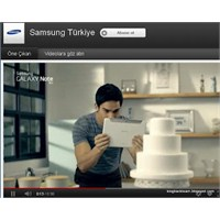 Türkiye'nin En Çok İzlenen Kurumsal Kanalı Samsung
