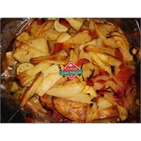 Fırın Torbasında Patates Ve Kabak Tarifi