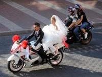 Böyle Olur Motosikletçinin Düğünü