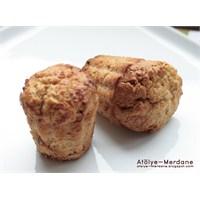 Elmalı Yulaflı Muffin