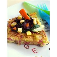 Sebzeli Omlet Böreği....