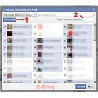 Facebook Sayfası Toplu Davet Et Uygulaması