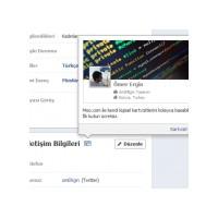 Ücretsiz Facebook Profil Kartvizitini İsteyen?