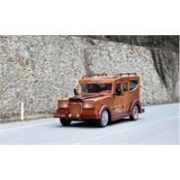 Trabzonlu Mobilya Ustasından Laz Rover!