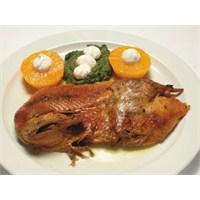 Nar Gibi Kızarmış Portakallı Ördek Tarifi