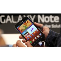 Galaxy Note Pazara Sunuldu