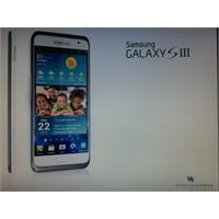 Samsung Galaxy Siii'e Ait Basın Görseli Çıktı