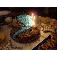 Şelale Pasta Doğum Günü Pastasi