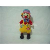 Neşeli Rengarenk Bir Palyaço (Amigurumi Clown)