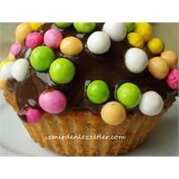 Çikolatalı Top Kekler