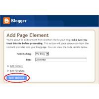 Bloggera Linkwithin ( Resim Kutucukları) Ekleme