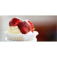 Vanilyalı- Çilekli Cupcake