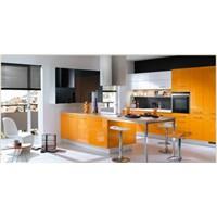 Turuncu Temalı Mutfak Dekorasyonları