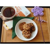 Pazar Kurabiyesi; Kahveli, Damla Çikolatalı