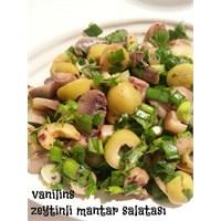 Zeytinli Mantar Salatam