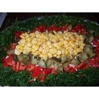 Etimekli Patlıcan Biber Salatası
