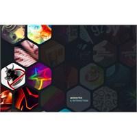 Geometrik Şekiller Kullanılmış Web Siteleri