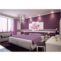 Renkli Yatak Odası Tasarımı