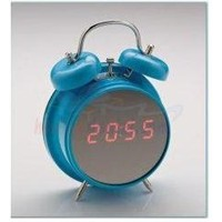 Aynalı Masa Üstü Dijital Saat