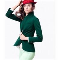 H&m Yeşil Tonları Lookbook